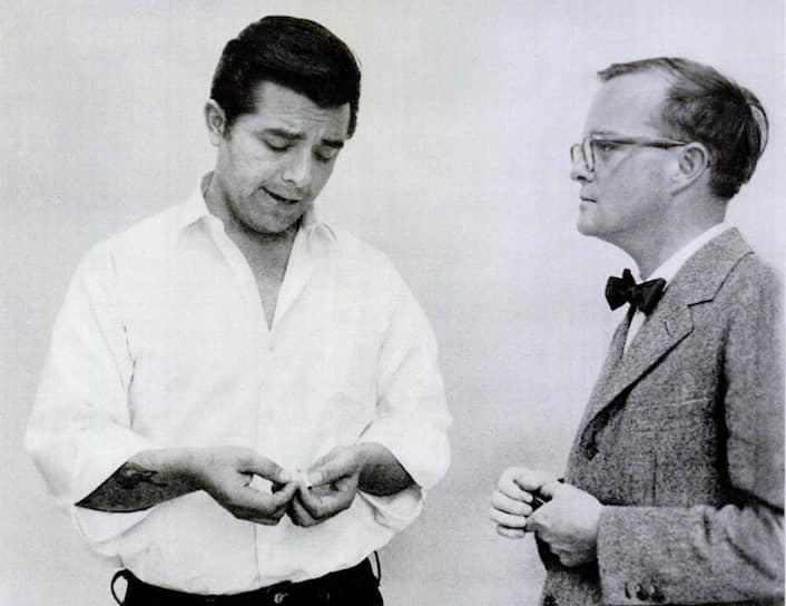 Перри Смит (слева) и Трумен Капоте, 1960