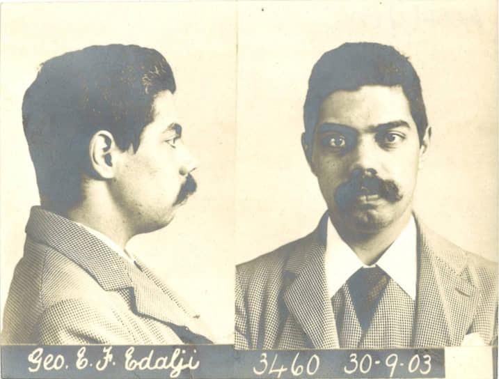 Джордж Эдалджи, 1903