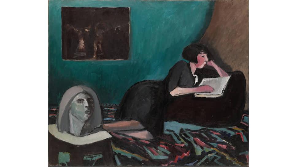 «Читающая женщина», 1931