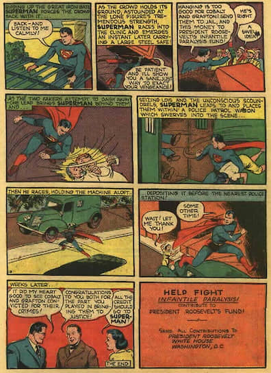 «Action Comics» №26, 1940