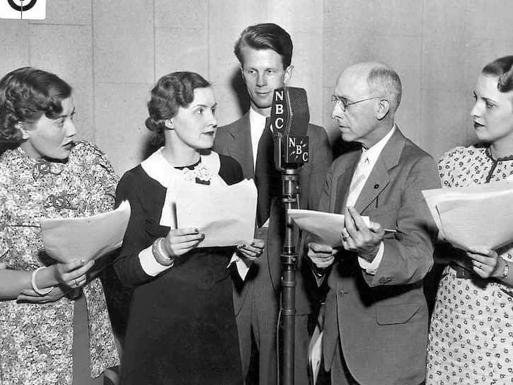 Запись сериала «Мамаша Перкинс», 1933