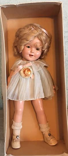 Кукла Ширли Темпл, 1930-е