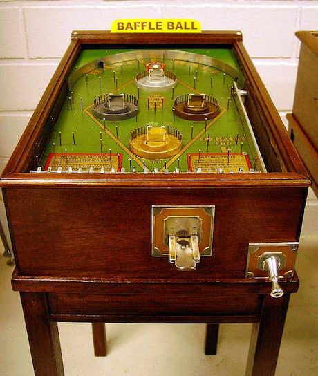 Пинбольный автомат Baffle Ball, 1931