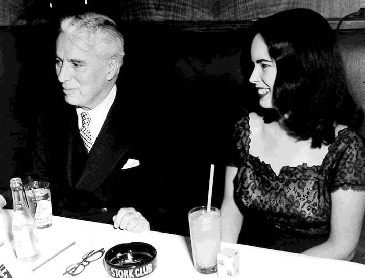 Чарли Чаплин и Уна О'Нил, 1947