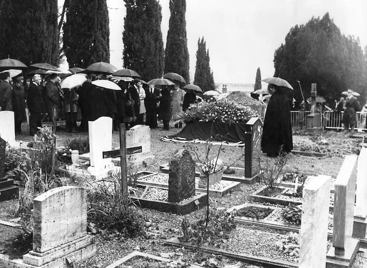 Похороны Чарли Чаплина, 27декабря 1977