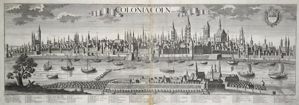 Панорама Кёльна, 1760-е