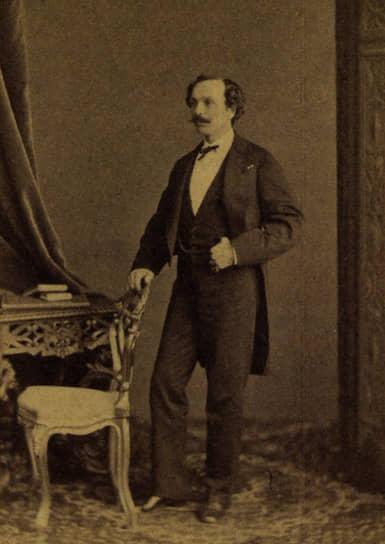 Мариус Петипа, около 1855