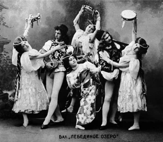 «Лебединое озеро» в постановке Мариуса Петипа, Мариинский театр, 1895