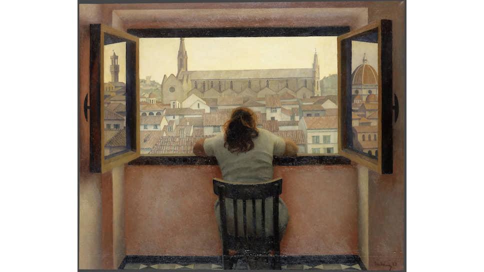 Татьяна Яблонская. «Вечер. Старая Флоренция», 1973
