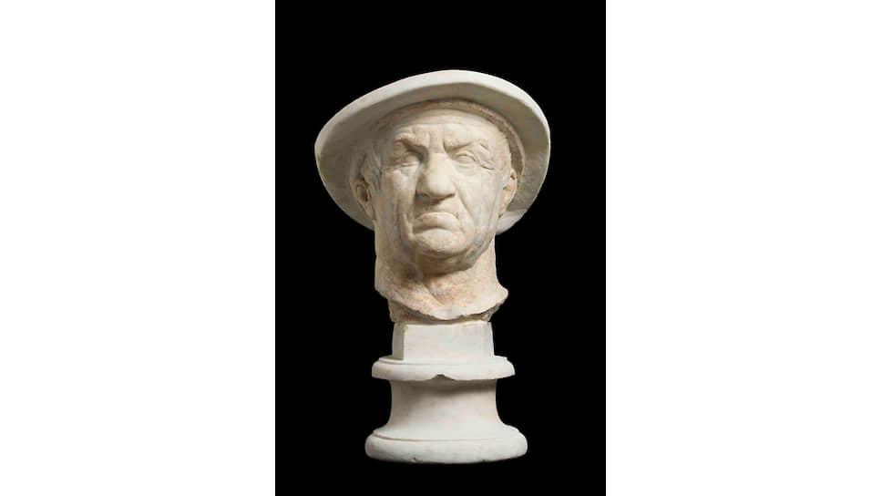 Предположительно бюст Евтидема I, II век до н.э.