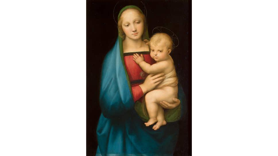 Рафаэль. «Мадонна Грандука», 1506–1507