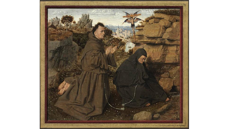 Ян ван Эйк. «Стигматизация святого Франциска», 1430–1432
