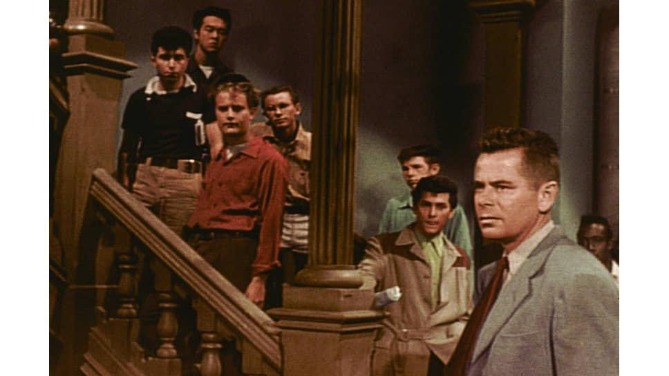 «Школьные джунгли». Режиссер Ричард Брукс, 1955