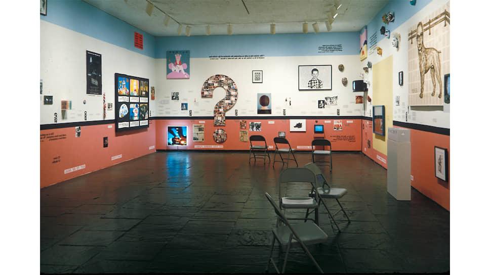 Group Material. «СПИД: хронология». Инсталляция на Биеннале Уитни, 1990