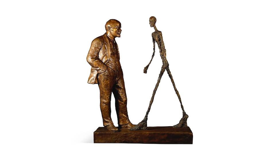 Леонид Соков «Встреча двух скульптур». 1987