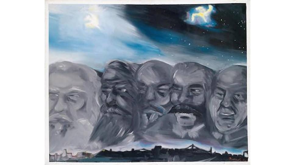 Йорг Иммендорф «Портреты классиков». 1975