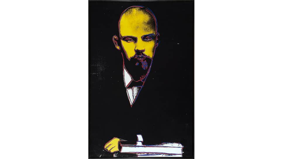Энди Уорхол «Ленин». 1986