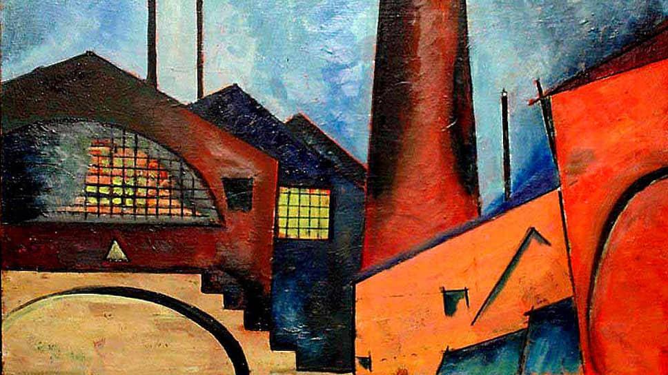 Александр Куприн. «Завод. Этюд», 1921