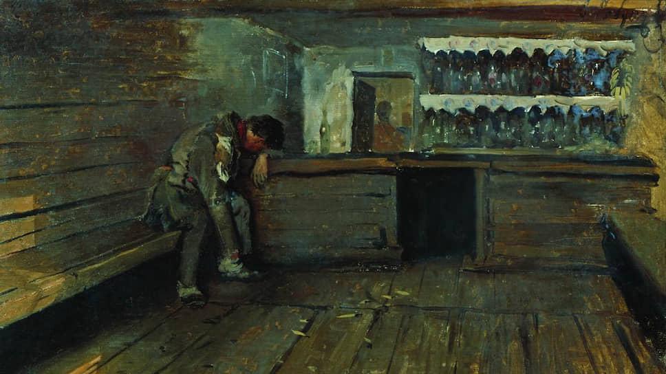 Андрей Рябушкин. «Кабак», 1891