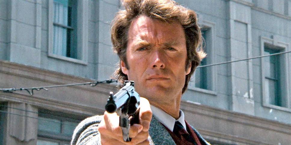Клинт Иствуд в «Грязном Гарри». Режиссер Дон Сигел, 1971