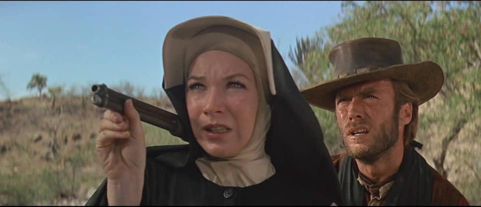 «Два мула для сестры Сары». Режиссер Дон Сигел, 1970