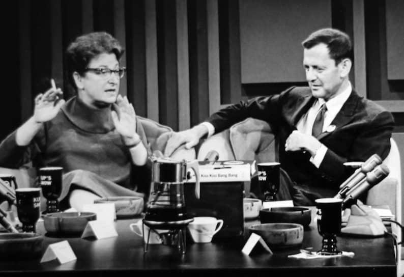 Полин Кейл на ток-шоу Ирва Купкинета, 1968