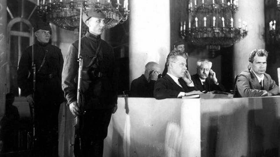 Суд над обвиняемыми по «Делу Промпартии», 1930