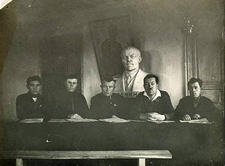 Правление колхоза, 1932