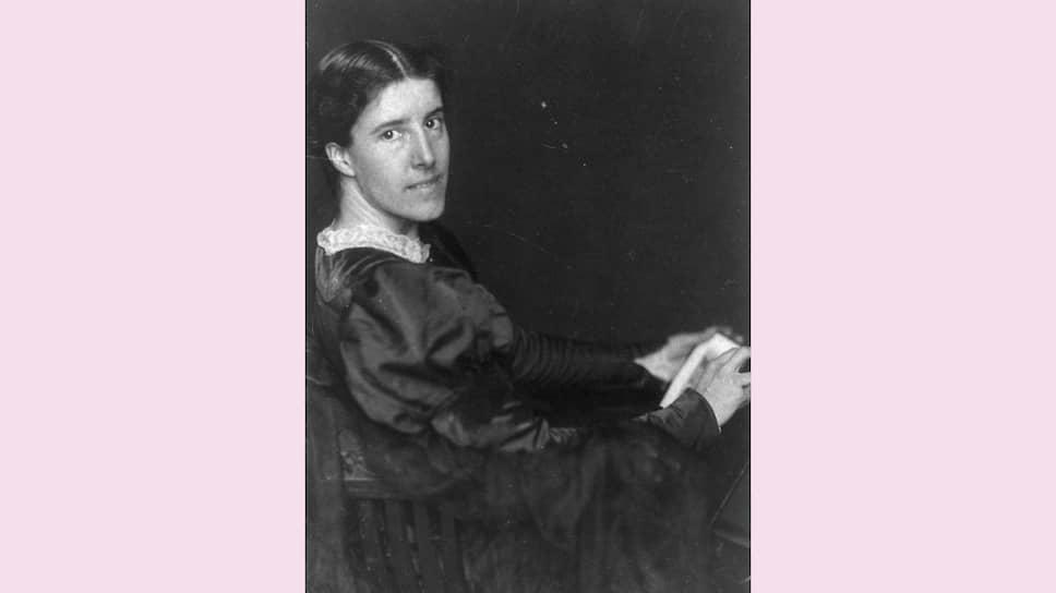 Шарлотта Перкинс Гилман, около 1900 года