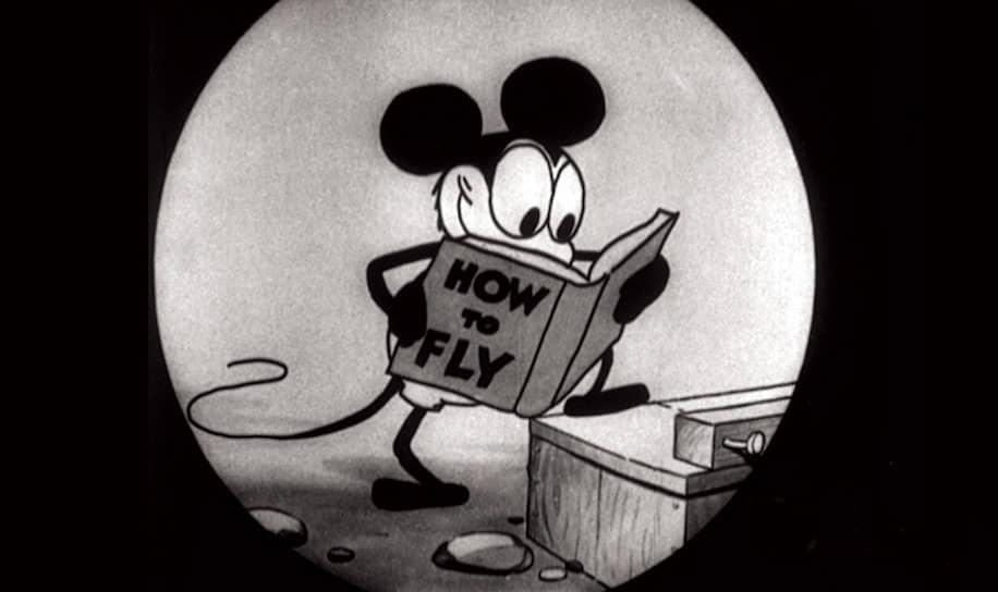«Безумный самолет». Режиссеры Уолт Дисней и Аб Айверкс, 1928