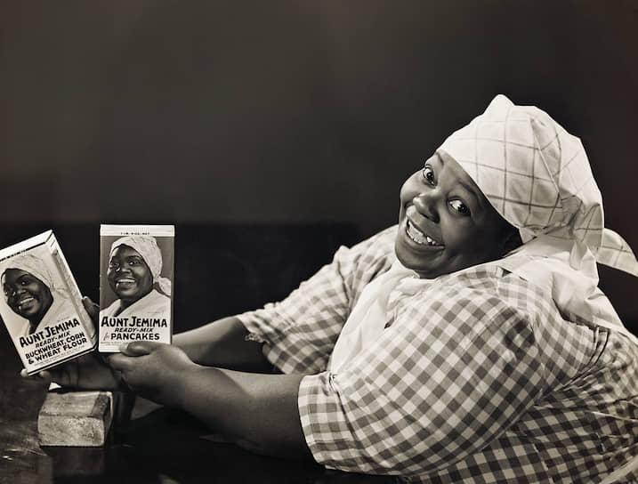 Рекламный плакат блинной смеси от тетушки Джемаймы, 1900-е