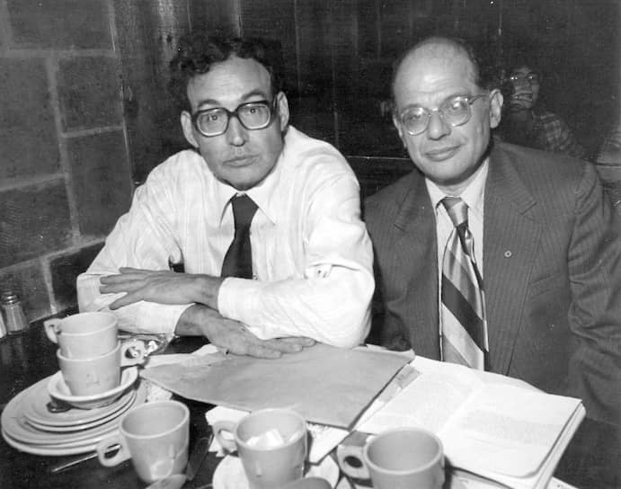 Карл Соломон и Аллен Гинзберг, 1978
