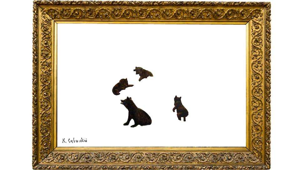"""Саня Закиров. Из проекта «Операция """"Мишки""""», 2020"""