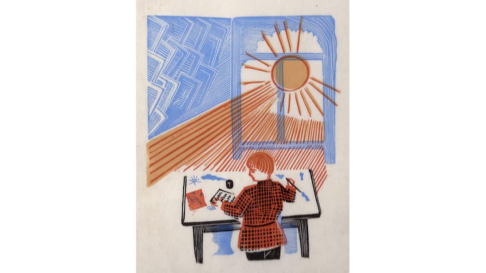 Владимир Фаворский. Иллюстрация к книге Самуила Маршака «7чудес», 1929