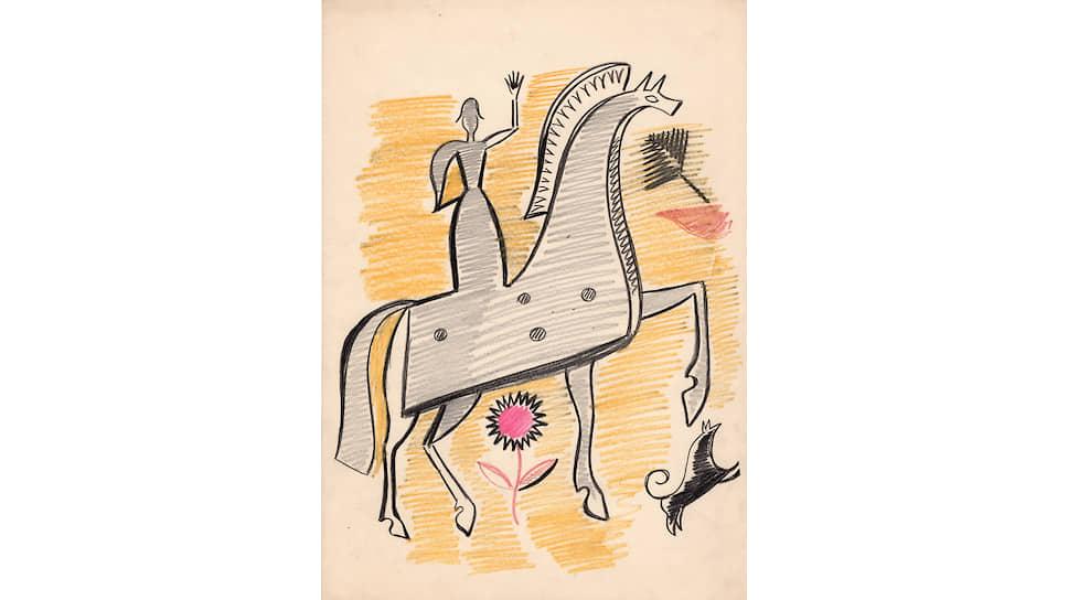 Иван Ефимов. «Конь», 1930-е