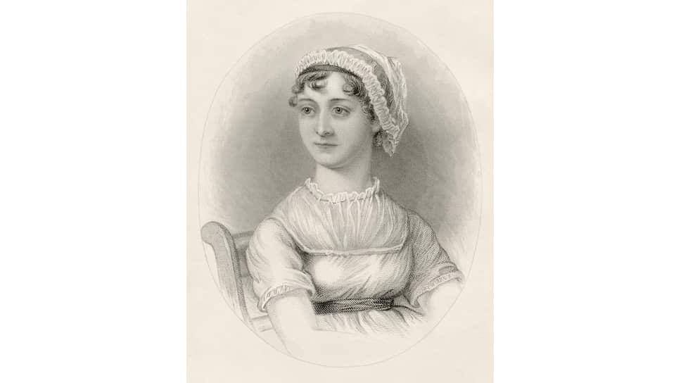 Портрет Джейн Остен, 1870