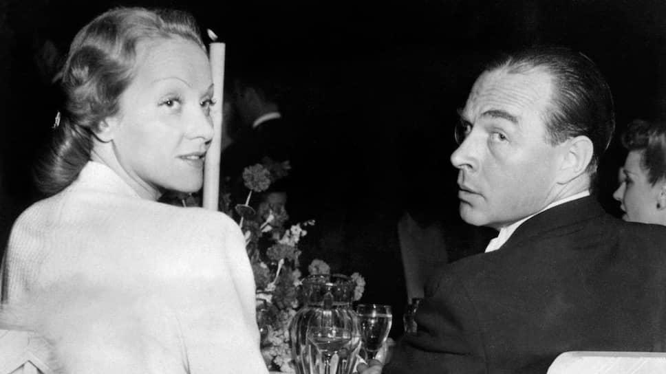 Эрих Мария Ремарк и Марлен Дитрих, 1939