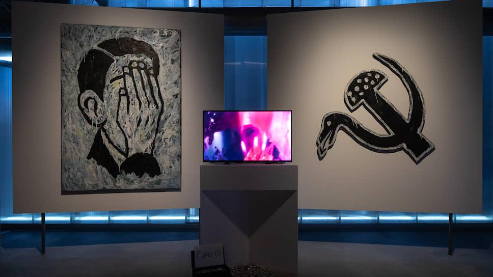Инсталляция творческого объединения «Левая нога». 2-я Триеннале российского современного искусства