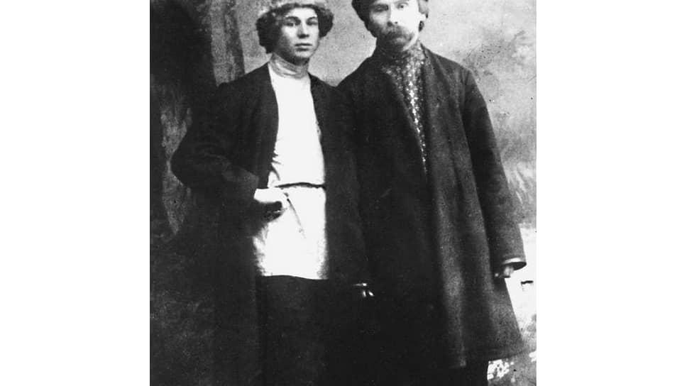 Сергей Есенин и Николай Клюев, 1915