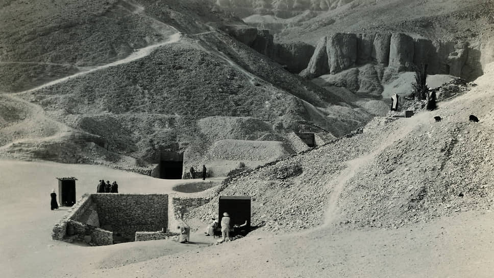 Вход в гробницу Тутанхамона, 1920-е