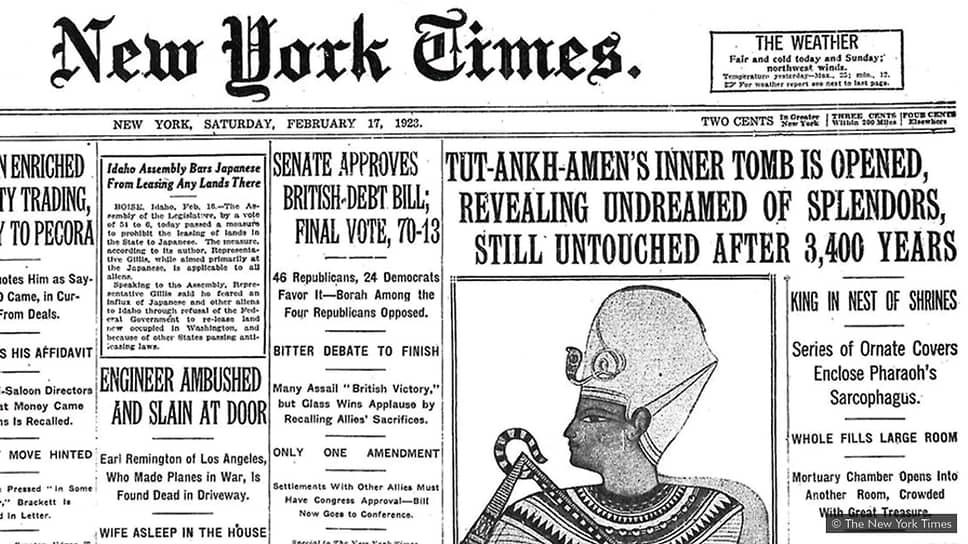 The New York Times, 17февраля 1923
