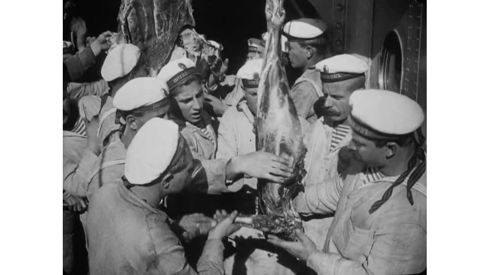"""Броненосец ""Потемкин"""". Режиссер Сергей Эйзенштейн, 1925"