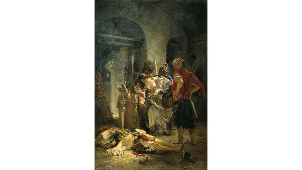 Константин Маковский. «Болгарские мученицы», 1877