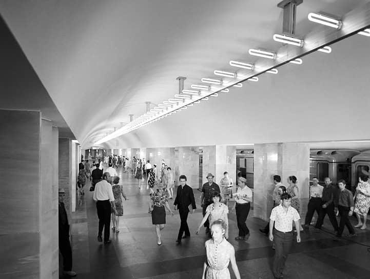 Москва, станция метро «Площадь Ногина», 1972