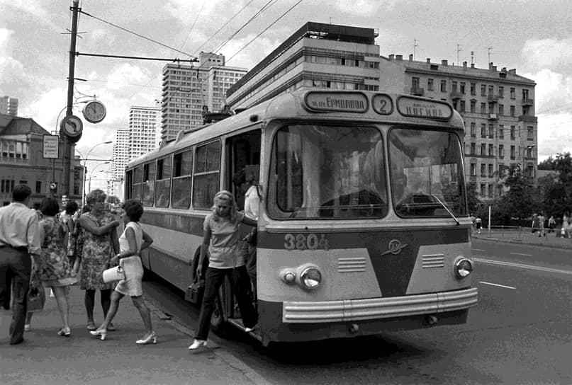 Москва, проспект Калинина, 1972
