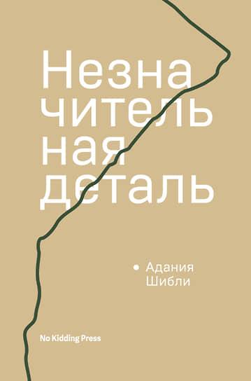 Адания Шибли, «Незначительная деталь»
