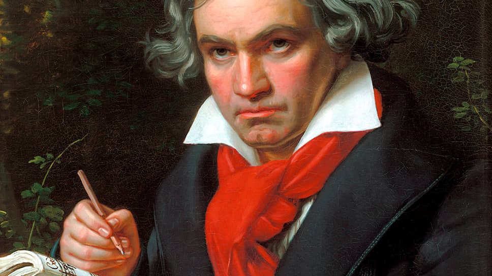 "Йозеф Карл Штилер. ""Портрет Бетховена"", 1820"