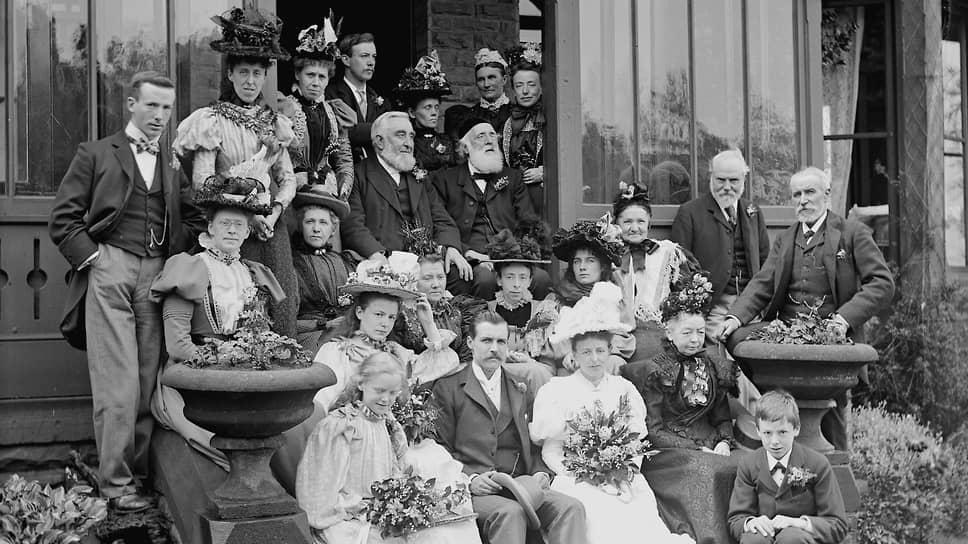 Свадебная фотография, Западный Йоркшир, 1897