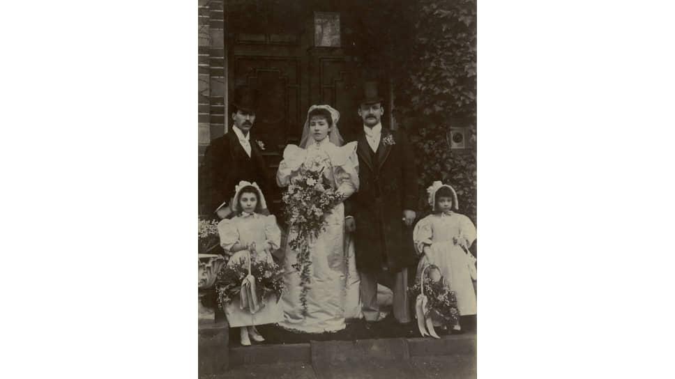 Свадебная фотография, 1890