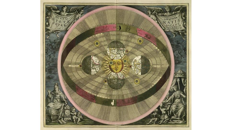 Андреас Целлариус. Атлас «Гармония Макрокосмоса», 1708